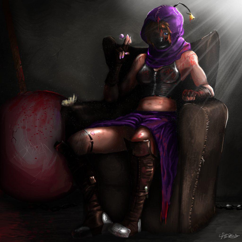 violet repaint